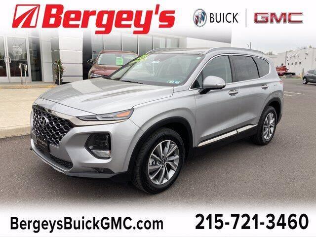 2020 Hyundai Santa Fe for sale at Bergey's Buick GMC in Souderton PA