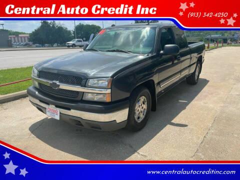 2004 Chevrolet Silverado 1500 for sale at Central Auto Credit Inc in Kansas City KS