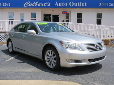 2010 Lexus LS 460 for sale at Colbert's Auto Outlet in Hickory NC