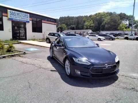 2013 Tesla Model S for sale at S & S Motors in Marietta GA