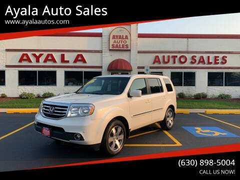 2014 Honda Pilot for sale at Ayala Auto Sales in Aurora IL
