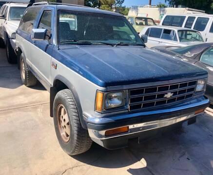 1989 Chevrolet S-10 Blazer for sale at GEM Motorcars in Henderson NV