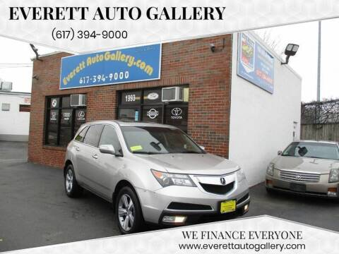 2012 Acura MDX for sale at Everett Auto Gallery in Everett MA