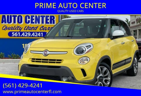 2014 FIAT 500L for sale at PRIME AUTO CENTER in Palm Springs FL