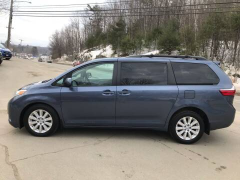 2015 Toyota Sienna for sale at MICHAEL MOTORS in Farmington ME