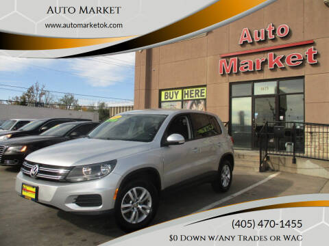 2013 Volkswagen Tiguan for sale at Auto Market in Oklahoma City OK