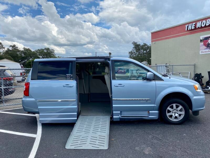 2012 Chrysler Town and Country for sale at The Mobility Van Store in Lakeland FL