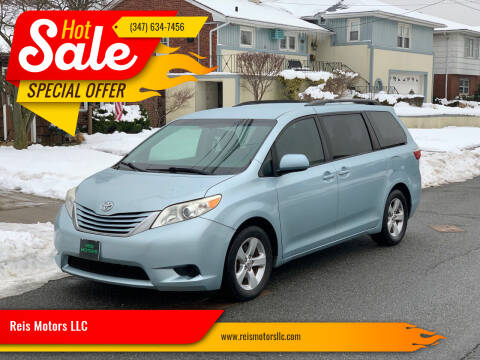 2015 Toyota Sienna for sale at Reis Motors LLC in Lawrence NY