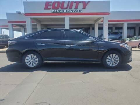 2017 Hyundai Sonata Hybrid for sale at EQUITY AUTO CENTER in Phoenix AZ