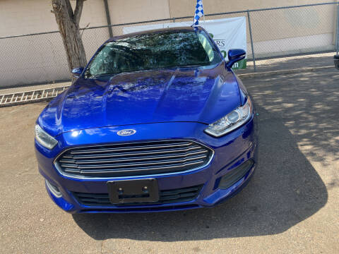 2016 Ford Fusion for sale at GO GREEN MOTORS in Lakewood CO