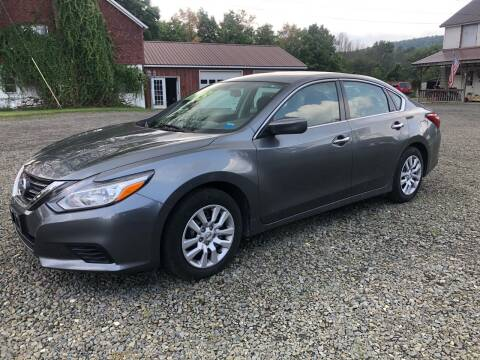2016 Nissan Altima for sale at Brush & Palette Auto in Candor NY