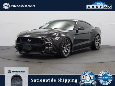 2015 Ford Mustang for sale at INDY AUTO MAN in Indianapolis IN