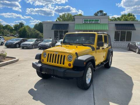 2009 Jeep Wrangler Unlimited for sale at Cross Motor Group in Rock Hill SC