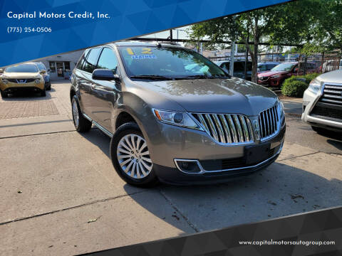 2012 Lincoln MKX for sale at Capital Motors Credit, Inc. in Chicago IL