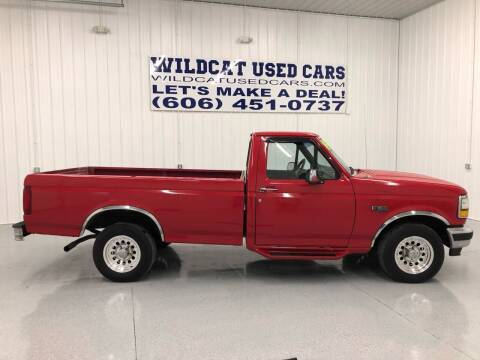 1993 Ford F-150 for sale at Wildcat Used Cars in Somerset KY