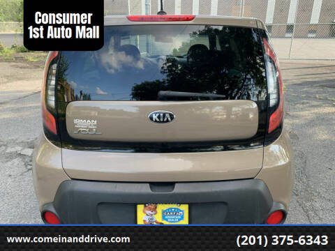 2014 Kia Soul for sale at Consumer 1st Auto Mall in Hasbrouck Heights NJ