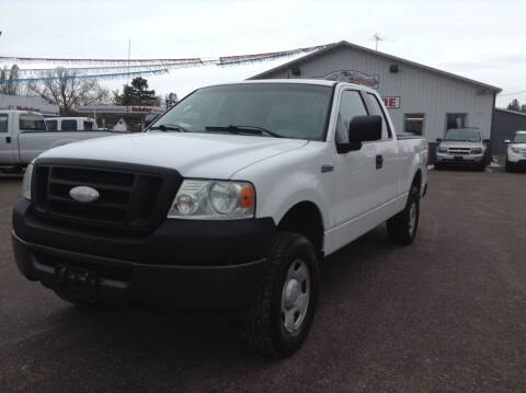 2008 Ford F-150 for sale at Steves Auto Sales in Cambridge MN