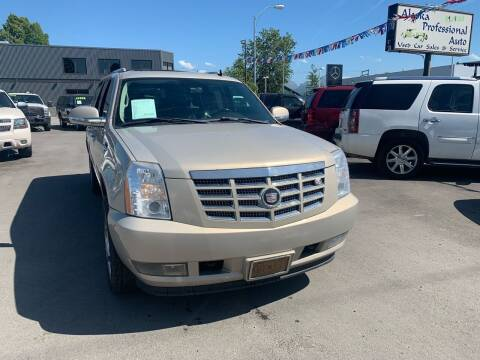 2007 Cadillac Escalade ESV for sale at ALASKA PROFESSIONAL AUTO in Anchorage AK
