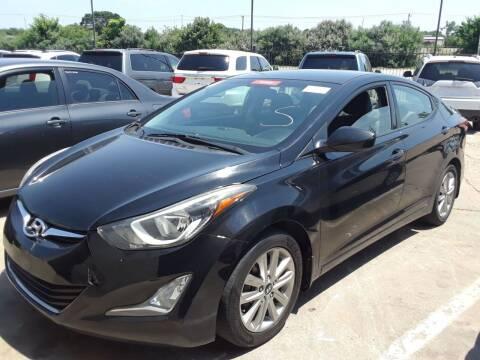 2016 Hyundai Elantra for sale at Auto Haus Imports in Grand Prairie TX