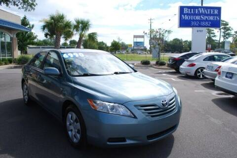 2007 Toyota Camry for sale at BlueWater MotorSports in Wilmington NC