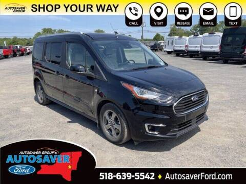 2021 Ford Transit Connect Wagon for sale at Autosaver Ford in Comstock NY