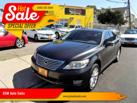 2010 Lexus LS 460 for sale at GSM Auto Sales in Linden NJ