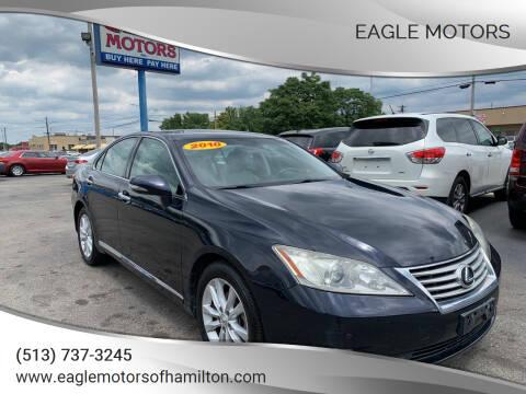 2010 Lexus ES 350 for sale at Eagle Motors in Hamilton OH
