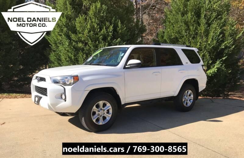 2019 Toyota 4Runner for sale at Noel Daniels Motor Company in Brandon MS