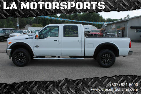 2014 Ford F-250 Super Duty for sale at LA MOTORSPORTS in Windom MN