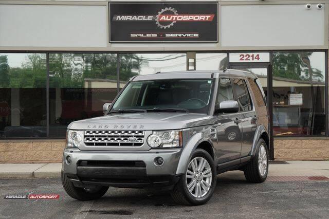 2011 Land Rover LR4 for sale in Mecerville, NJ