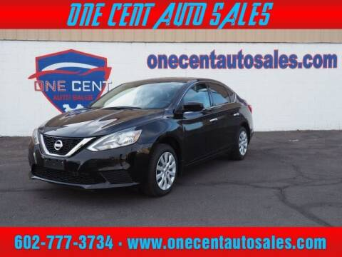 2017 Nissan Sentra for sale at One Cent Auto Sales in Glendale AZ