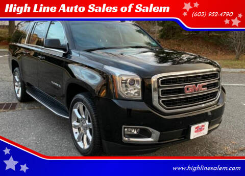 2015 GMC Yukon XL for sale at High Line Auto Sales of Salem in Salem NH