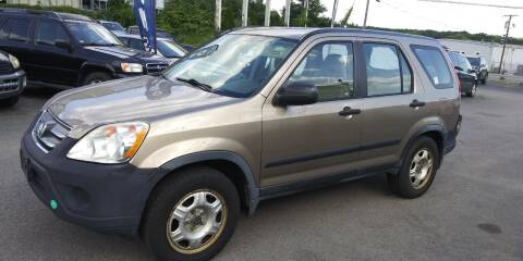 2006 Honda CR-V for sale at JG Motors in Worcester MA