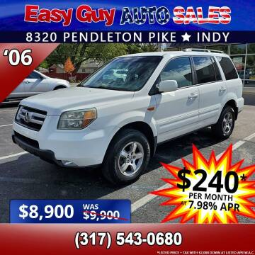 2006 Honda Pilot for sale at Easy Guy Auto Sales in Indianapolis IN