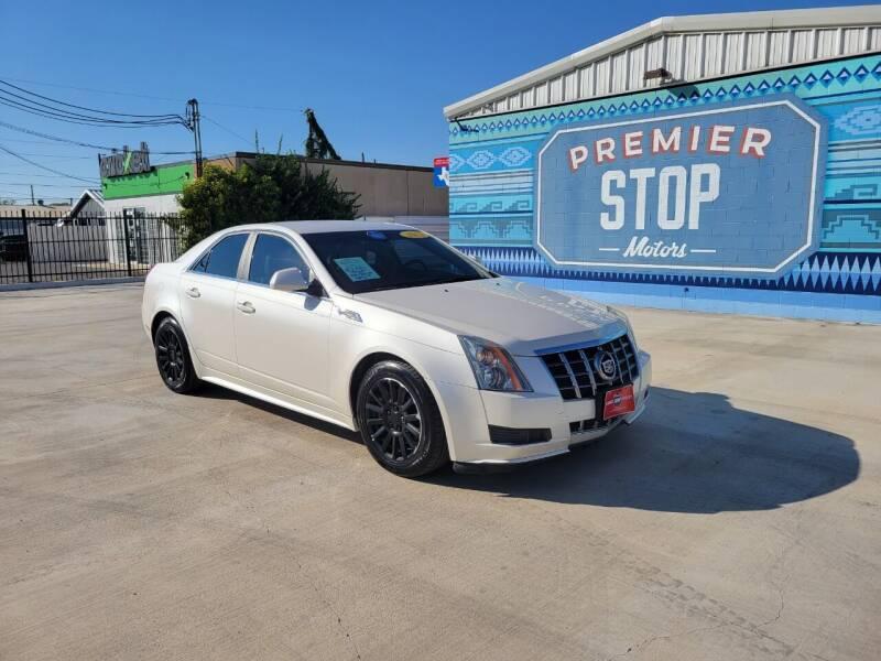 2012 Cadillac CTS for sale at PREMIER STOP MOTORS LLC in San Antonio TX