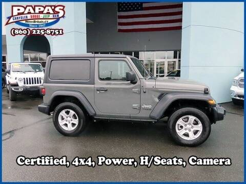 2020 Jeep Wrangler for sale at Papas Chrysler Dodge Jeep Ram in New Britain CT