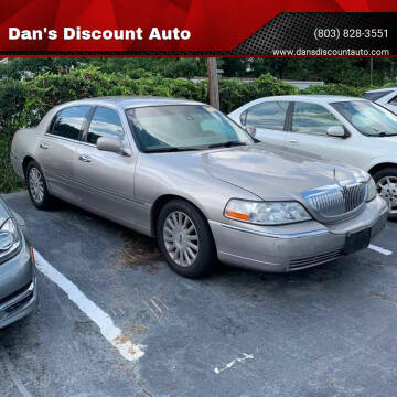 2003 Lincoln Town Car for sale at Dan's Discount Auto in Gaston SC
