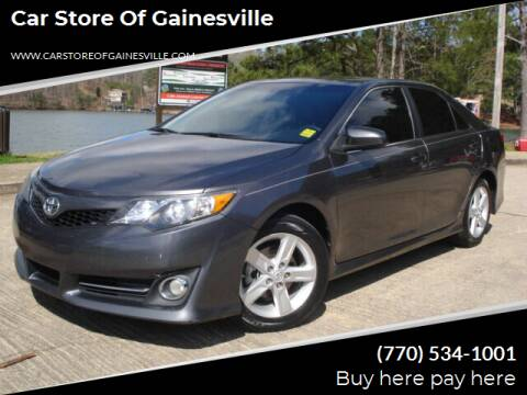 2013 Toyota Camry for sale at Car Store Of Gainesville in Oakwood GA