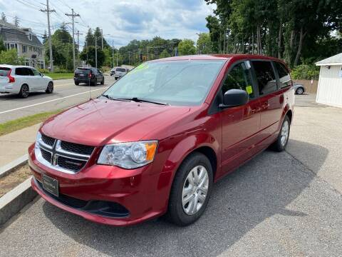 2016 Dodge Grand Caravan for sale at Auto Plus in Amesbury MA