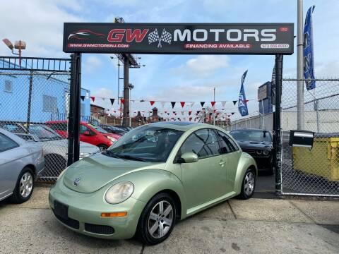 2006 Volkswagen New Beetle for sale at GW MOTORS in Newark NJ