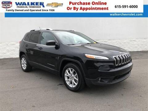 2014 Jeep Cherokee for sale at WALKER CHEVROLET in Franklin TN