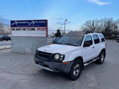 2004 Nissan Xterra for sale at Alexander's Auto Sales in North Little Rock AR