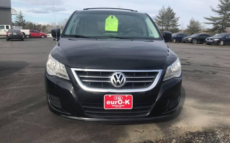 2009 Volkswagen Routan for sale at eurO-K in Benton ME
