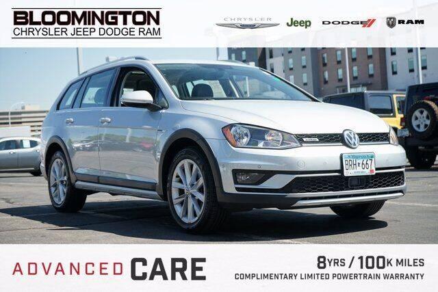 2017 Volkswagen Golf Alltrack for sale in Minneapolis, MN