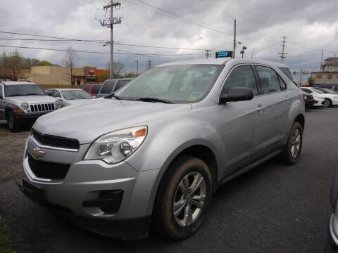 2012 Chevrolet Equinox for sale at 25TH STREET AUTO SALES in Easton PA