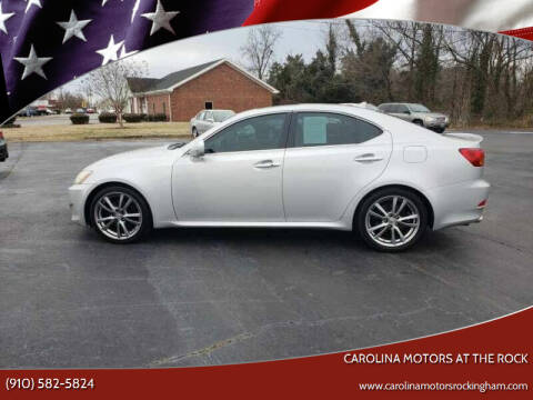 2008 Lexus IS 250 for sale at Carolina Motors at the Rock - Carolina Motors-Thomasville in Thomasville NC