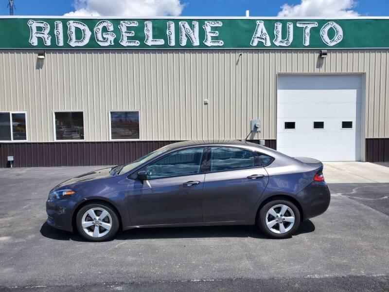 2015 Dodge Dart for sale at RIDGELINE AUTO in Chubbuck ID
