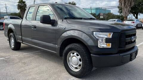 2016 Ford F-150 for sale at T.S. IMPORTS INC in Houston TX