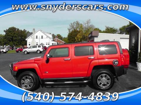 2008 HUMMER H3 for sale at Snyders Auto Sales in Harrisonburg VA