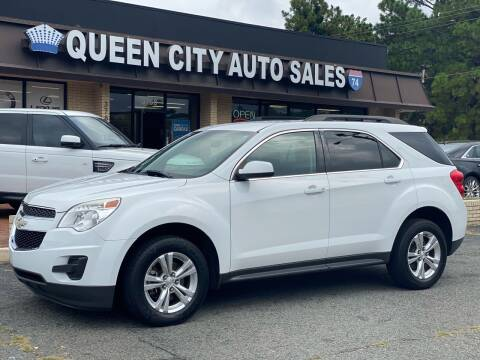 2015 Chevrolet Equinox for sale at Queen City Auto Sales in Charlotte NC